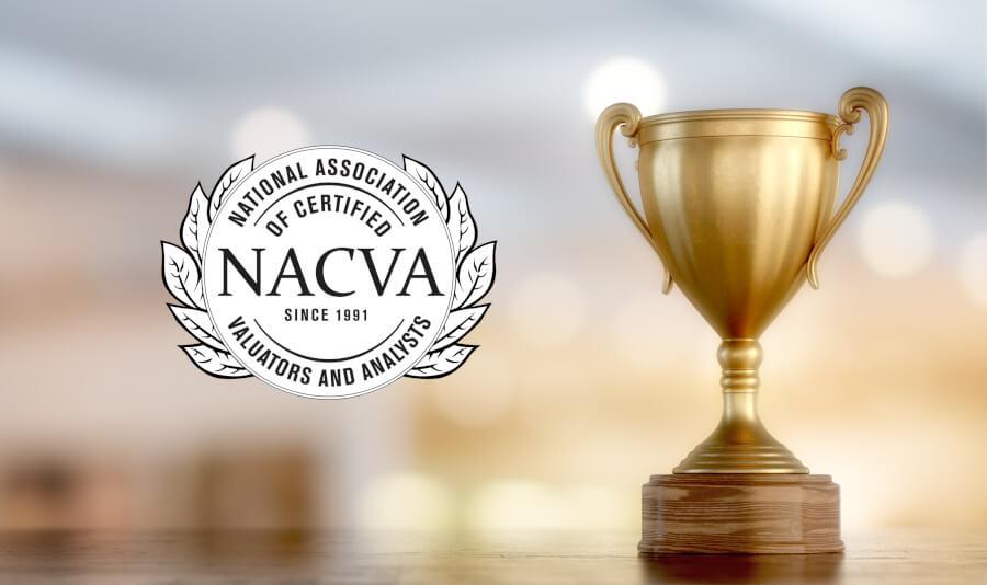Receiving the NACVA Award
